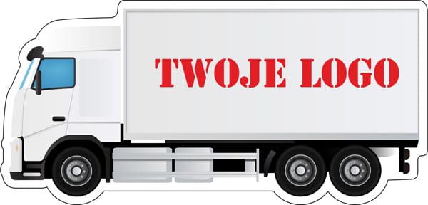 Magnes reklamowy - ciężarówka